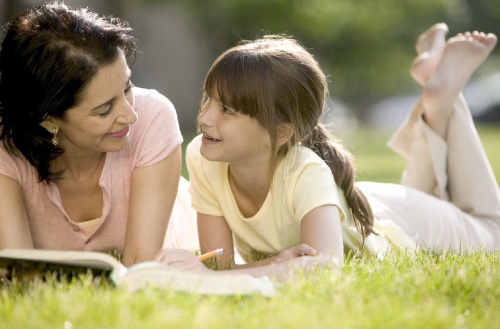 El mejor regalo para los niños se llama Tiempo